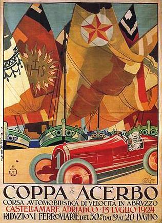 manifesto coppa acerbo 1924